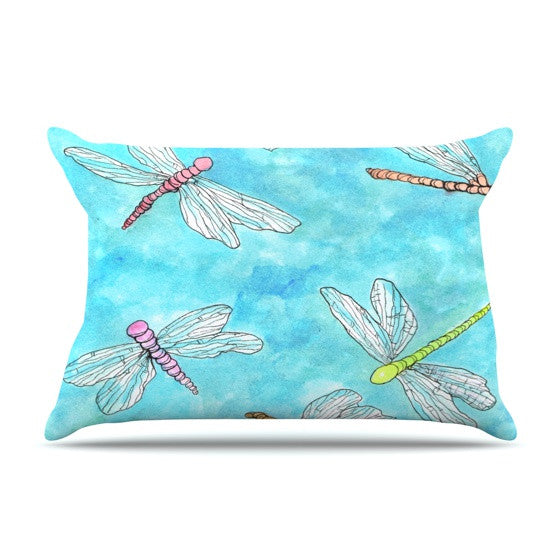 "Rosie Brown ""Dragonfly""  Pillow Sham - KESS InHouse"