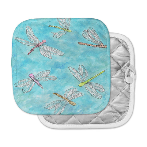 "Rosie Brown ""Dragonfly""  Pot Holder"