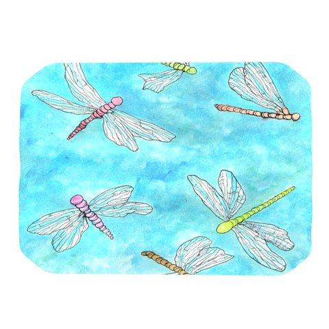 "Rosie Brown ""Dragonfly""  Place Mat - KESS InHouse"