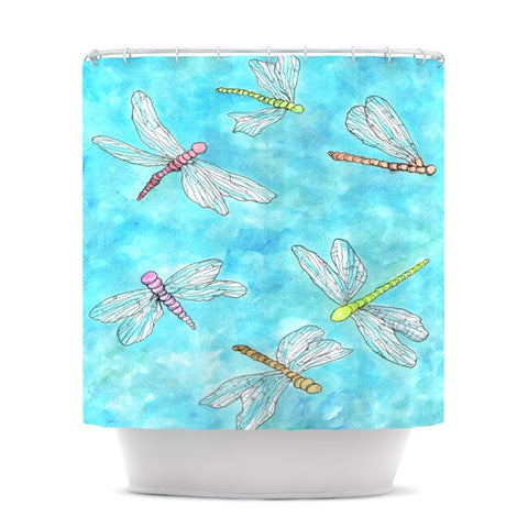"Rosie Brown ""Dragonfly""  Shower Curtain - KESS InHouse"