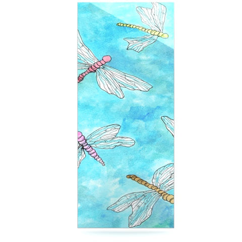 "Rosie Brown ""Dragonfly"" Luxe Rectangle Panel - KESS InHouse  - 1"