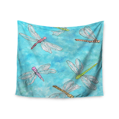 "Rosie Brown ""Dragonfly"" Wall Tapestry - KESS InHouse  - 1"
