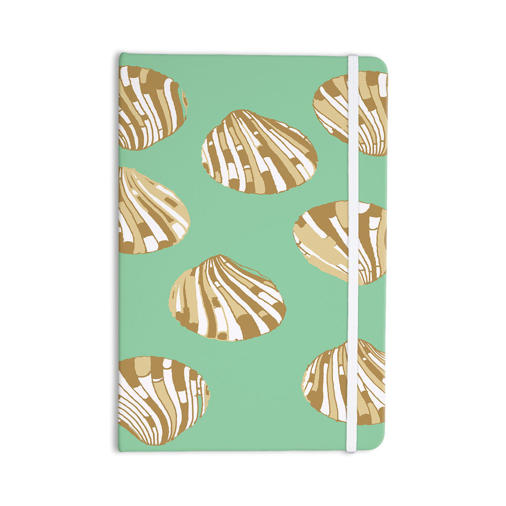 "Rosie Brown ""Scallop Shells"" Everything Notebook - KESS InHouse  - 1"