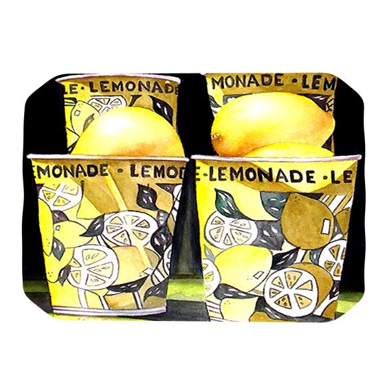 "Rosie Brown ""Lemonade"" Place Mat - KESS InHouse"