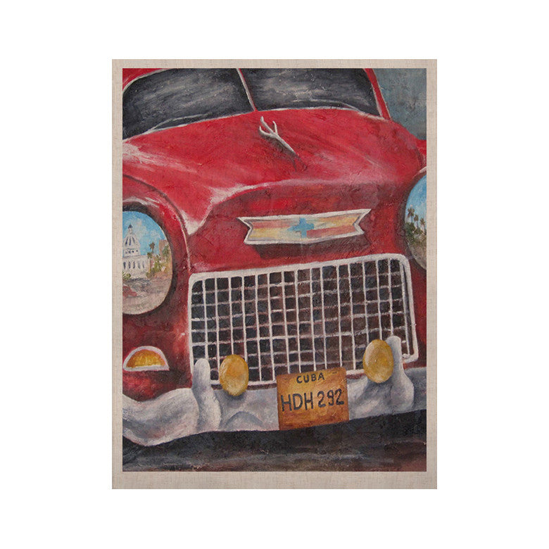 "Rosie Brown ""Vintage in Cuba"" KESS Naturals Canvas (Frame not Included) - KESS InHouse  - 1"