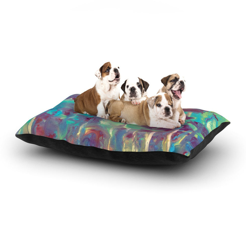 "Rosie Brown ""Splash"" Dog Bed - KESS InHouse  - 1"
