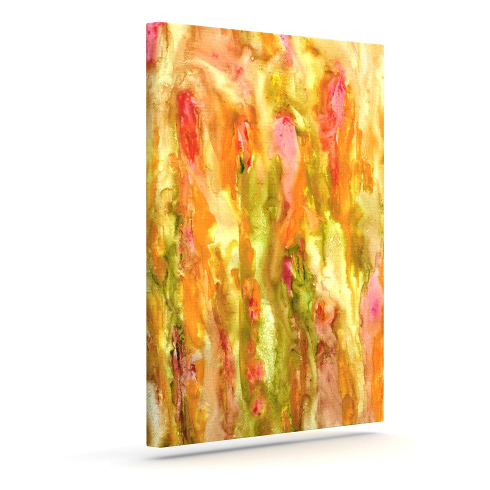 "Rosie Brown ""Walk in the Forest"" Outdoor Canvas Wall Art - KESS InHouse  - 1"
