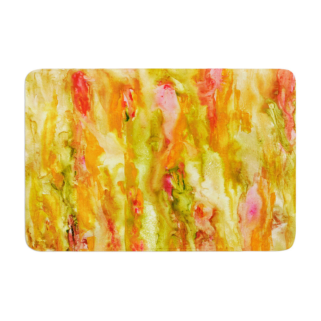 "Rosie Brown ""Walk in the Forest"" Memory Foam Bath Mat - KESS InHouse"