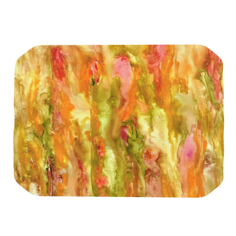 "Rosie Brown ""Walk in the Forest"" Place Mat - KESS InHouse"