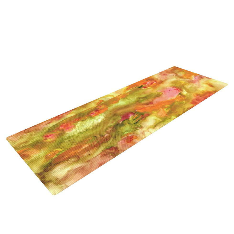 "Rosie Brown ""Walk in the Forest"" Yoga Mat - KESS InHouse  - 1"