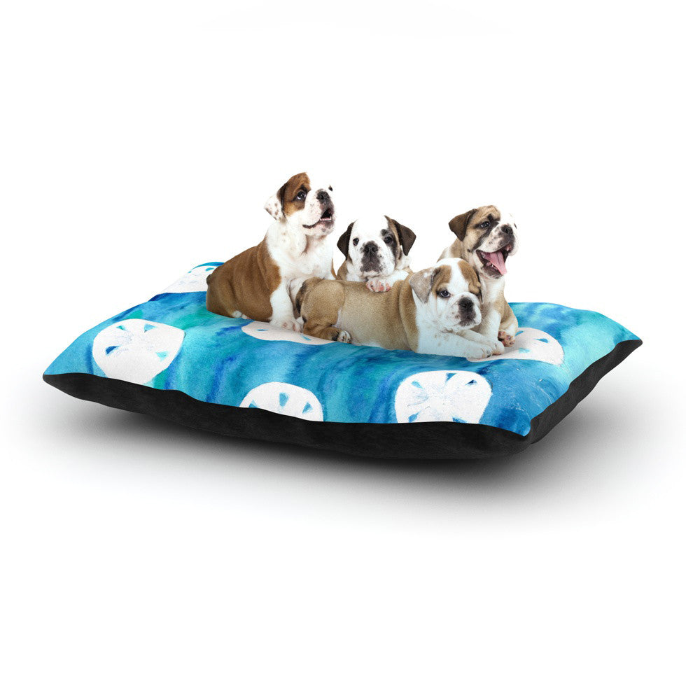 "Rosie Brown ""Sandollars"" Dog Bed - KESS InHouse  - 1"