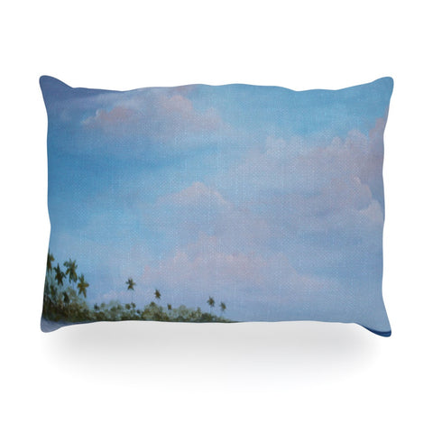"Rosie Brown ""Carefree Carribean"" Oblong Pillow - KESS InHouse"