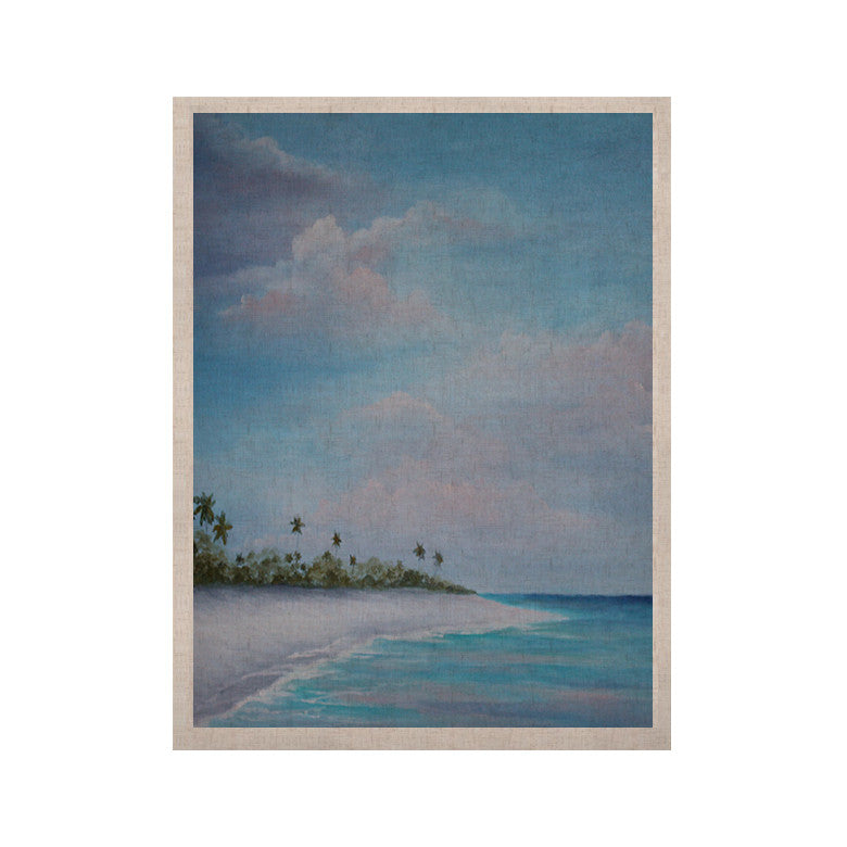 "Rosie Brown ""Carefree Carribean"" KESS Naturals Canvas (Frame not Included) - KESS InHouse  - 1"