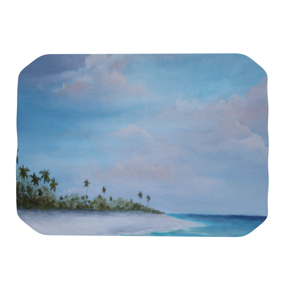 "Rosie Brown ""Carefree Carribean"" Place Mat - KESS InHouse"