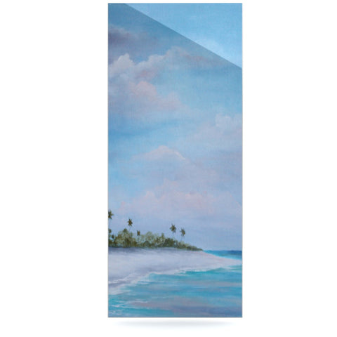 "Rosie Brown ""Carefree Carribean"" Luxe Rectangle Panel - KESS InHouse  - 1"