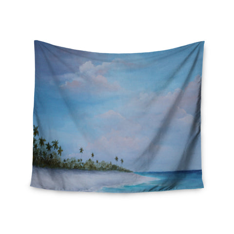 "Rosie Brown ""Carefree Carribean"" Wall Tapestry - KESS InHouse  - 1"