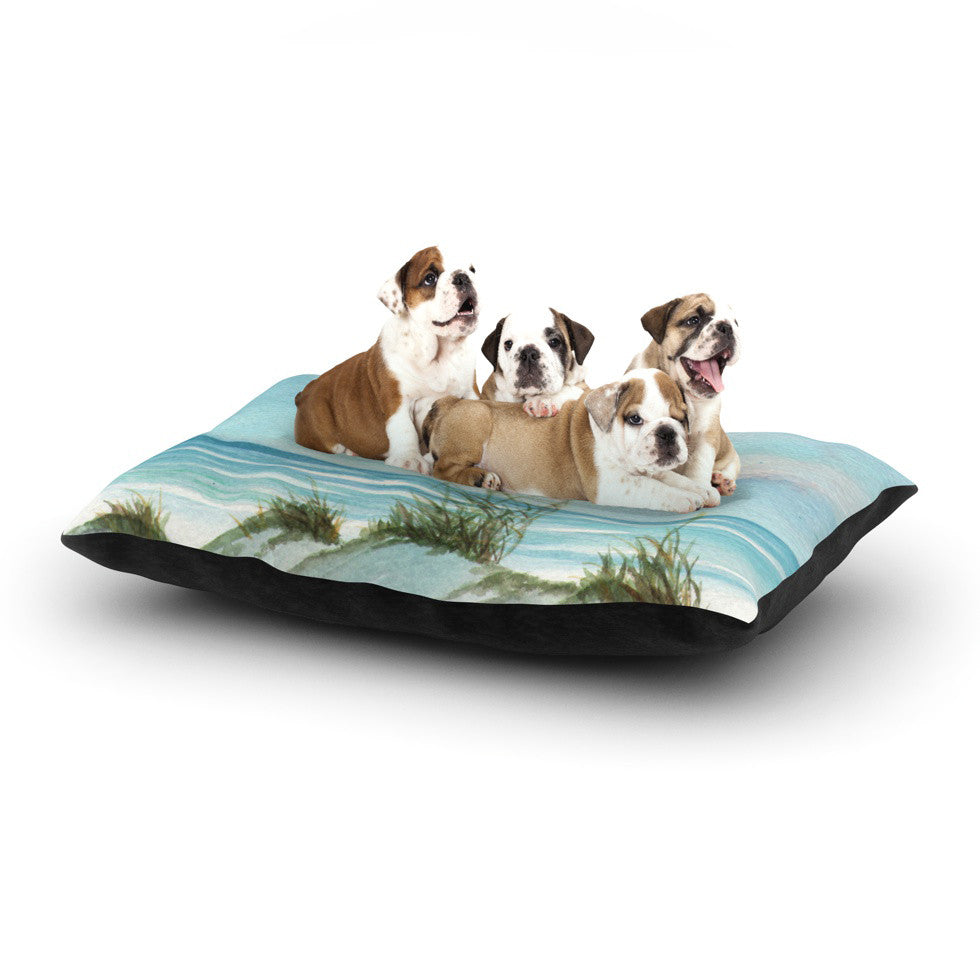 "Rosie Brown ""Sea Oats"" Dog Bed - KESS InHouse  - 1"