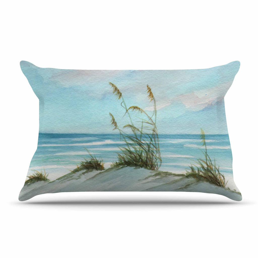"Rosie Brown ""Sea Oats"" Pillow Sham - KESS InHouse"