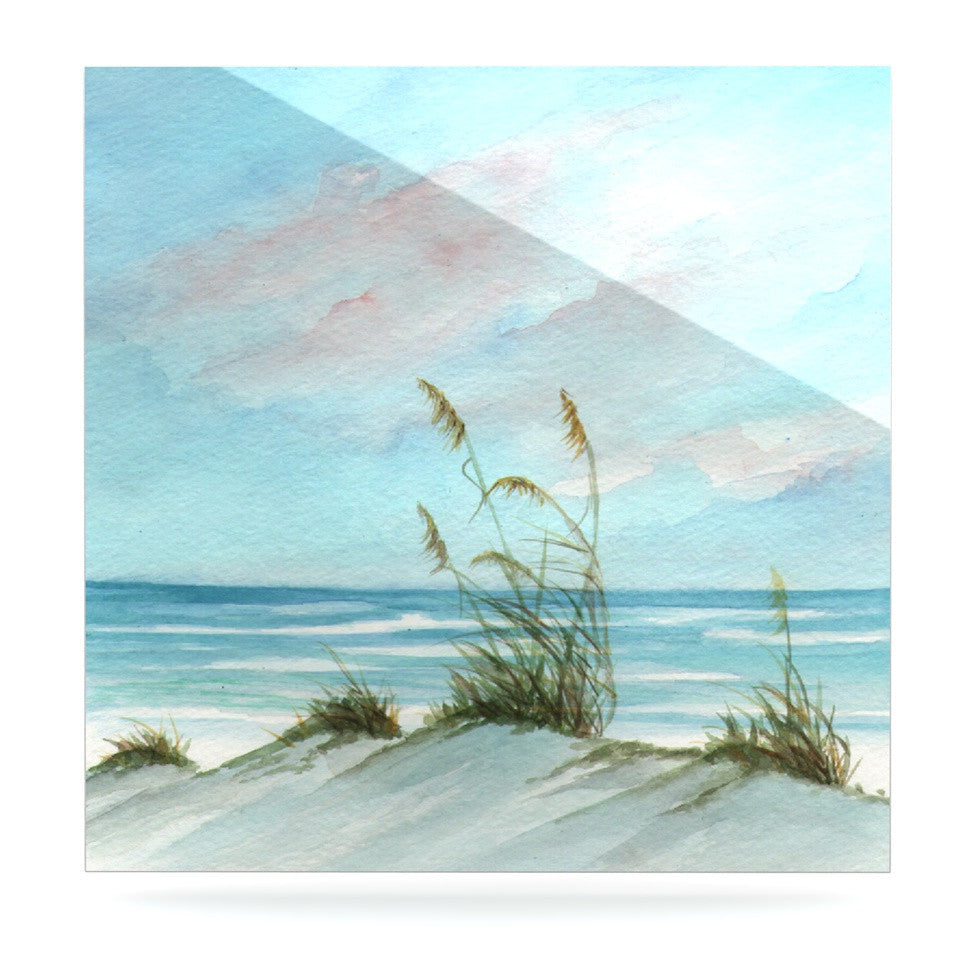 "Rosie Brown ""Sea Oats"" Luxe Square Panel - KESS InHouse  - 1"