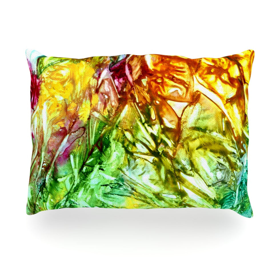 "Rosie Brown ""Kaleidoscope"" Oblong Pillow - KESS InHouse"