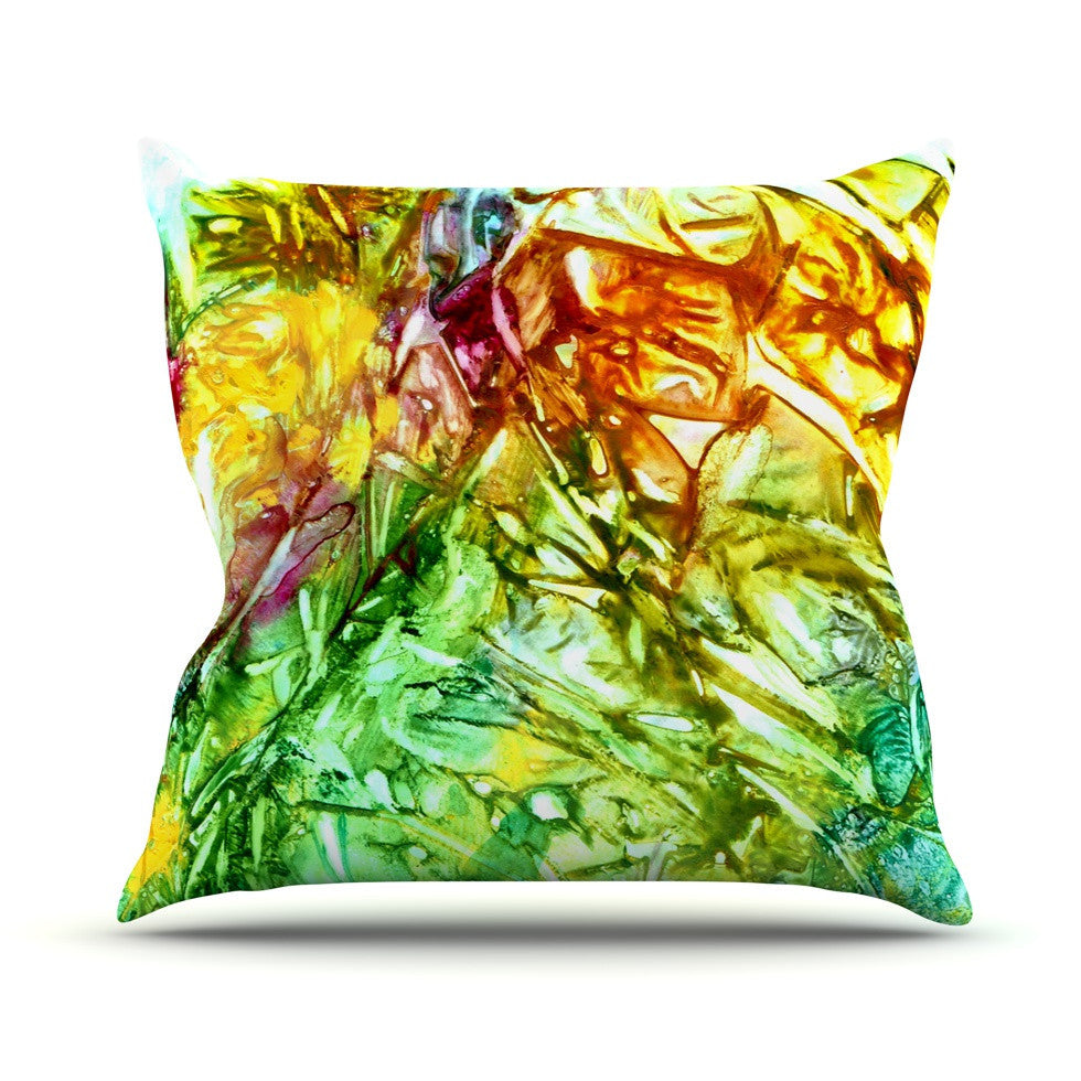 "Rosie Brown ""Kaleidoscope"" Outdoor Throw Pillow - KESS InHouse  - 1"