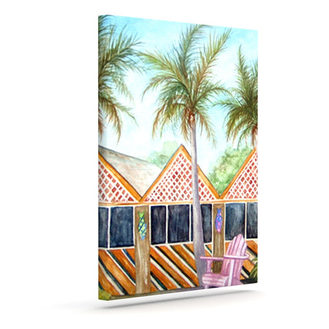 "Rosie Brown ""McT on Sanibel"" Outdoor Canvas Wall Art - KESS InHouse  - 1"