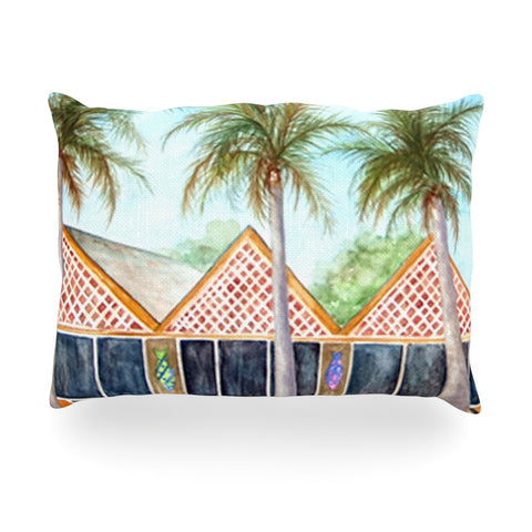 "Rosie Brown ""McT on Sanibel"" Oblong Pillow - KESS InHouse"