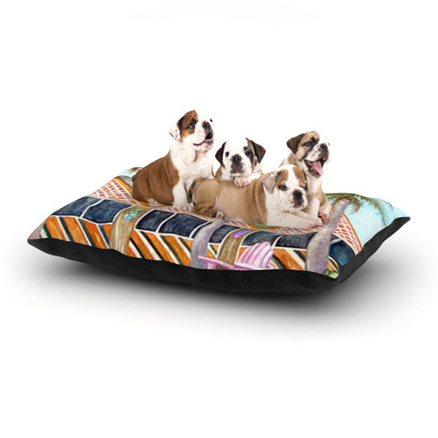 "Rosie Brown ""McT on Sanibel"" Dog Bed - KESS InHouse  - 1"