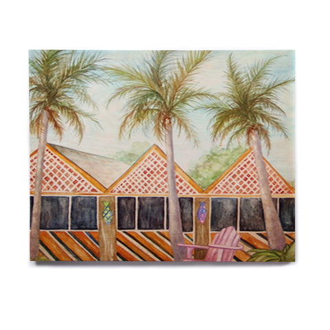 "Rosie Brown ""McT on Sanibel"" Birchwood Wall Art - KESS InHouse  - 1"