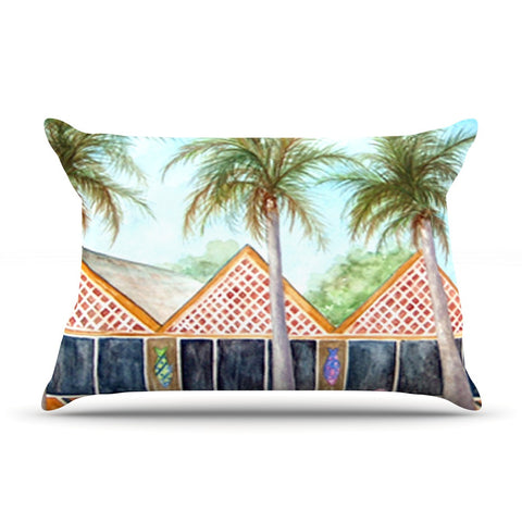 "Rosie Brown ""McT on Sanibel"" Pillow Sham - KESS InHouse"