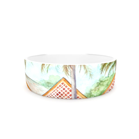 "Rosie Brown ""McT on Sanibel"" Pet Bowl - KESS InHouse"