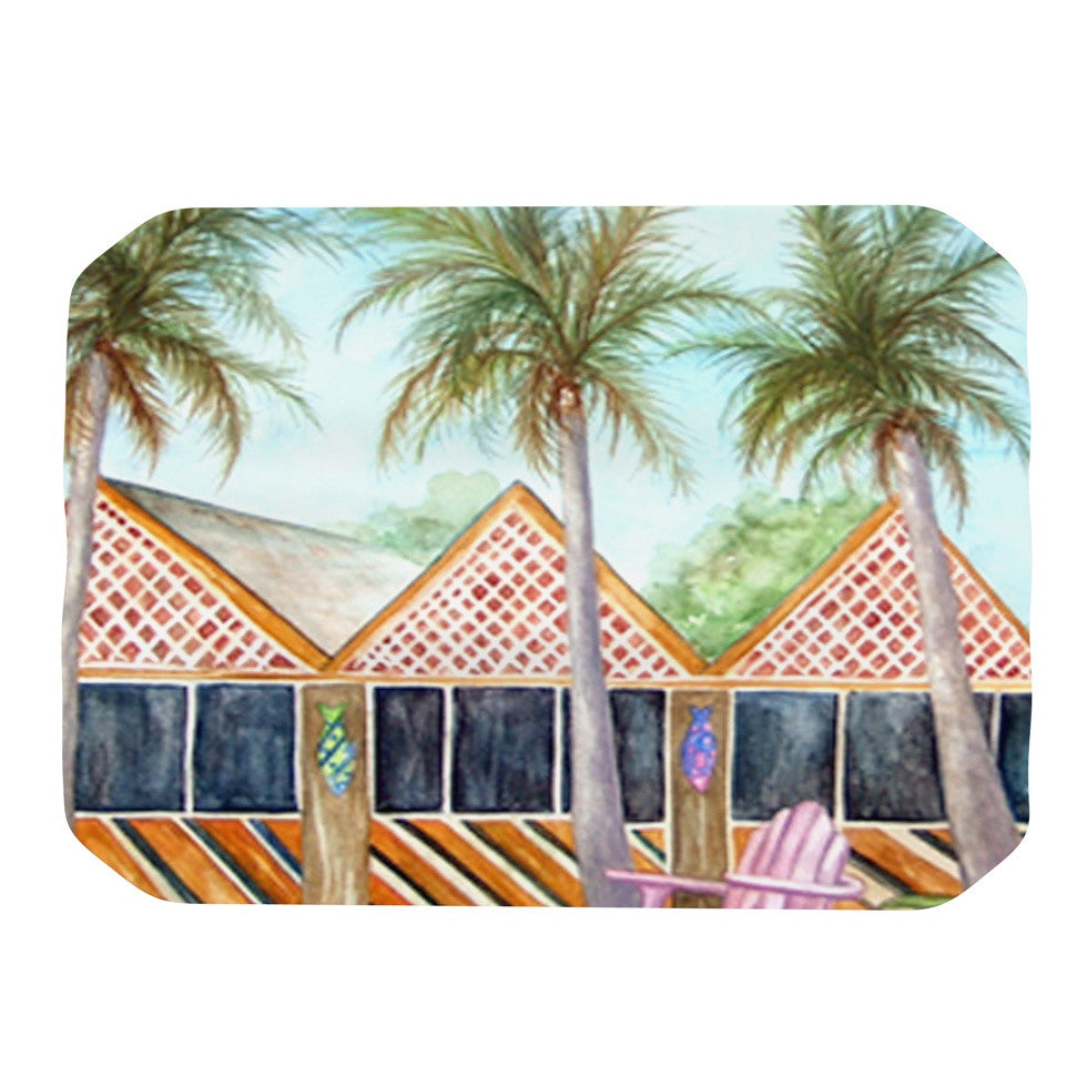 "Rosie Brown ""McT on Sanibel"" Place Mat - KESS InHouse"