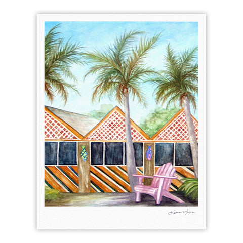 "Rosie Brown ""McT on Sanibel"" Fine Art Gallery Print - KESS InHouse"