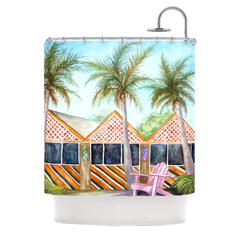 "Rosie Brown ""McT on Sanibel"" Shower Curtain - KESS InHouse"