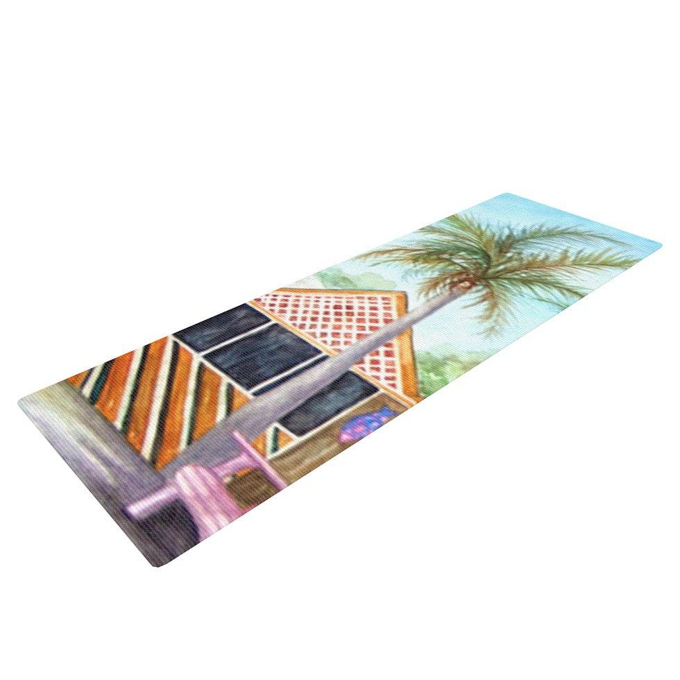 "Rosie Brown ""McT on Sanibel"" Yoga Mat - KESS InHouse  - 1"