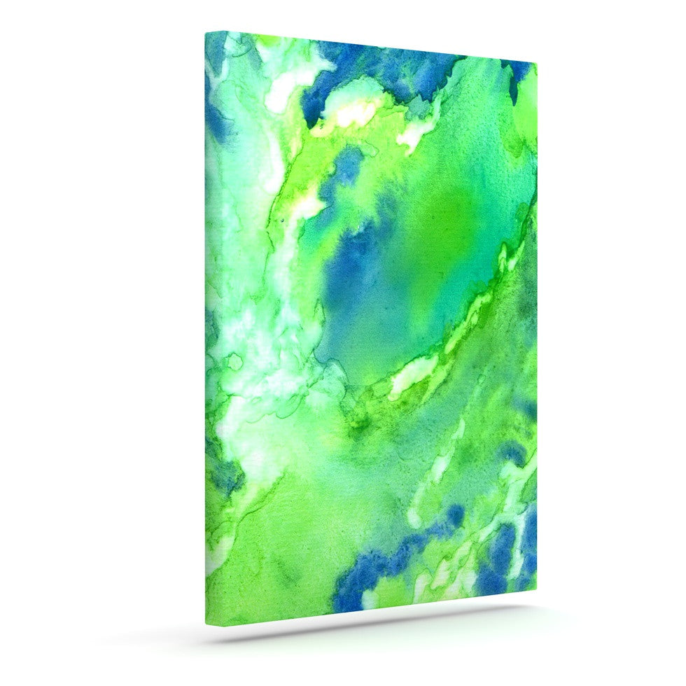 "Rosie Brown ""Touch of Blue"" Outdoor Canvas Wall Art - KESS InHouse  - 1"