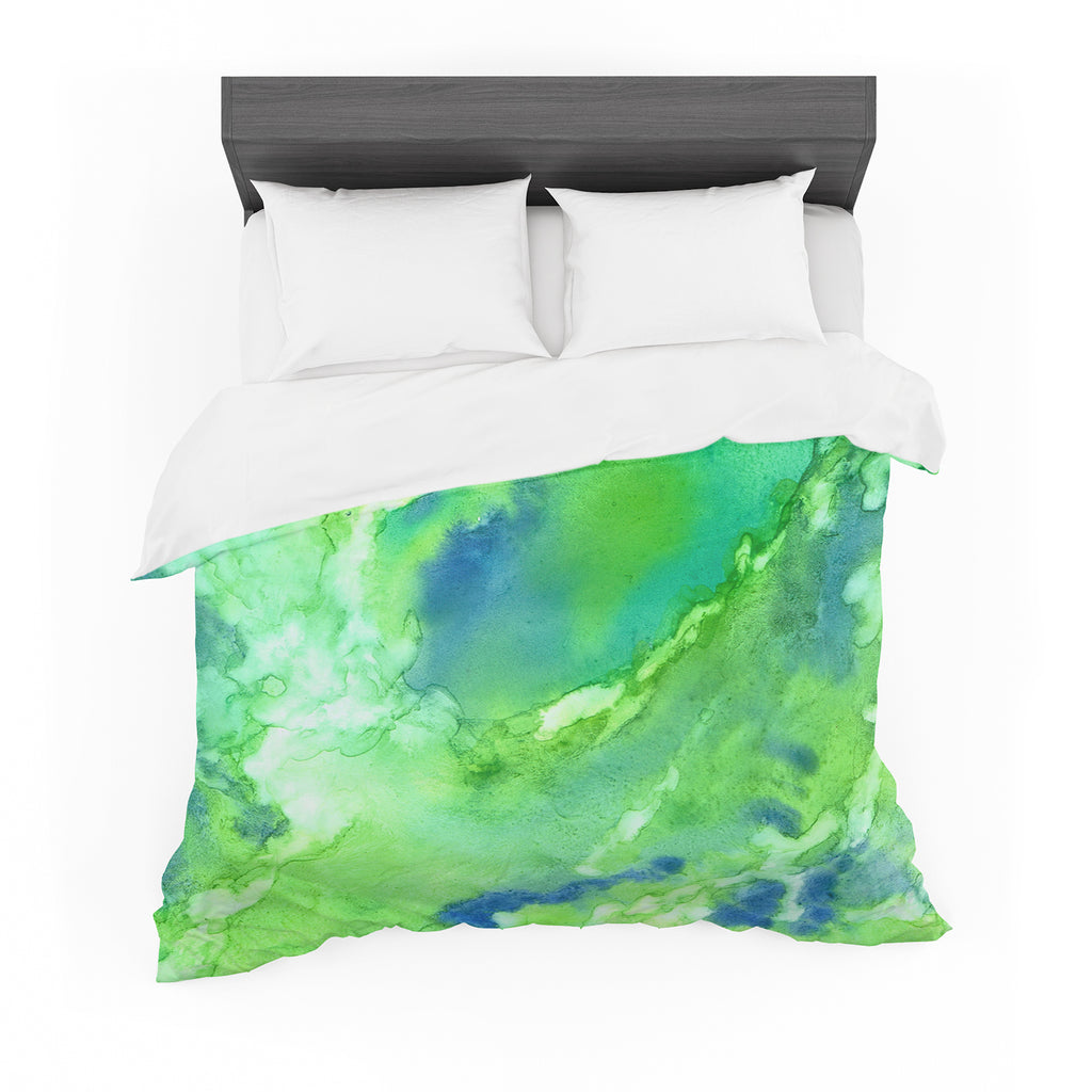 "Rosie Brown ""Touch of Blue"" Cotton Duvet"