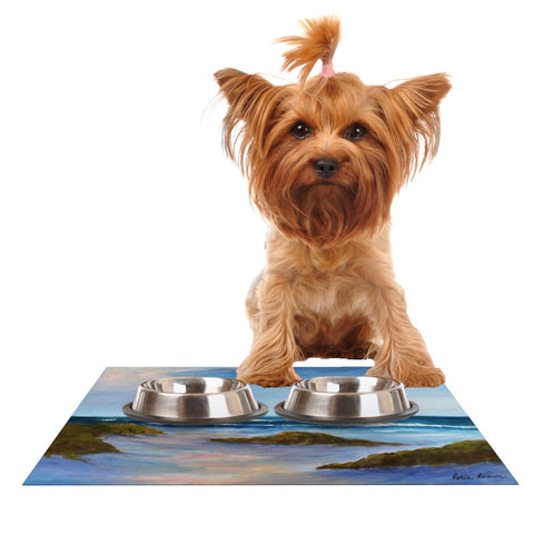 "Rosie Brown ""Wet Sand"" Dog Place Mat - Outlet Item"