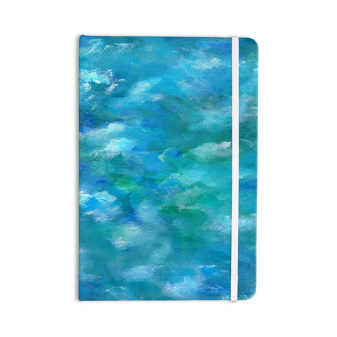 "Rosie Brown ""Ocean Waters"" Blue Aqua Everything Notebook - KESS InHouse  - 1"