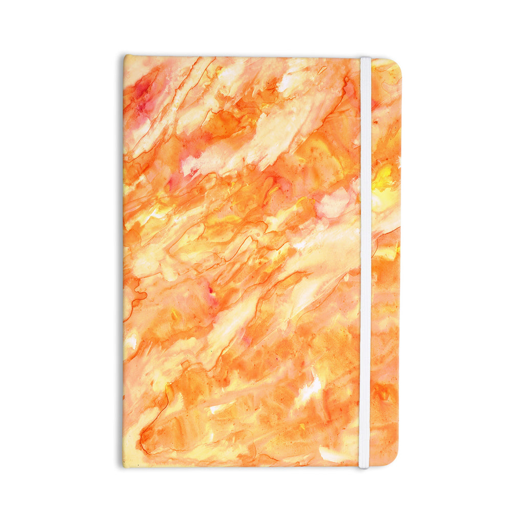 "Rosie Brown ""Autumn"" Orange Paint Everything Notebook - KESS InHouse  - 1"