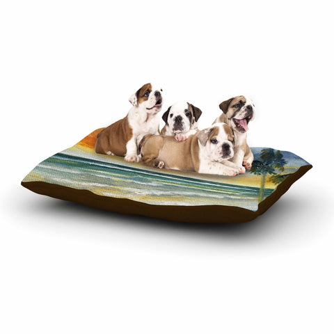 "Rosie Brown ""End of Day"" Beach Dog Bed - KESS InHouse  - 1"