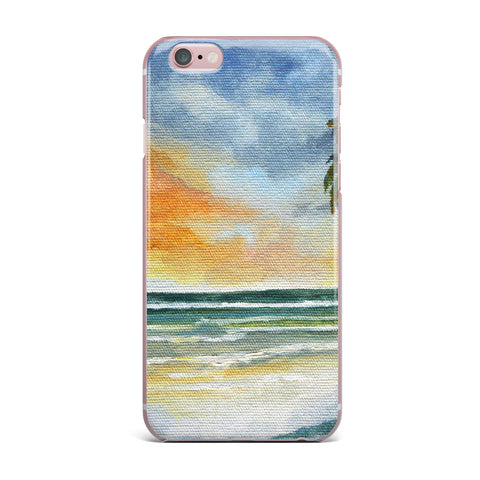 "Rosie Brown ""End of Day"" Beach iPhone Case - KESS InHouse"
