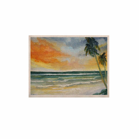 "Rosie Brown ""End of Day"" Beach KESS Naturals Canvas (Frame not Included) - KESS InHouse  - 1"