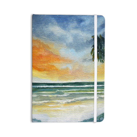 "Rosie Brown ""End of Day"" Beach Everything Notebook - KESS InHouse  - 1"