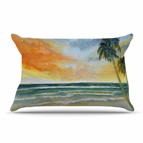 "Rosie Brown ""End of Day"" Beach Pillow Sham - KESS InHouse"