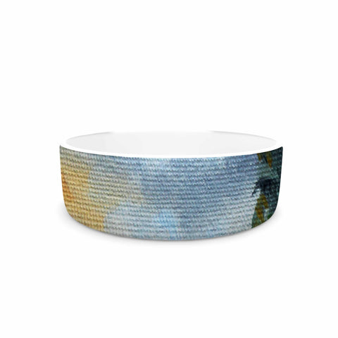 "Rosie Brown ""End of Day"" Beach Pet Bowl - KESS InHouse"