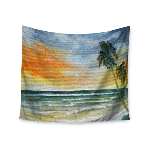 "Rosie Brown ""End of Day"" Beach Wall Tapestry - KESS InHouse  - 1"