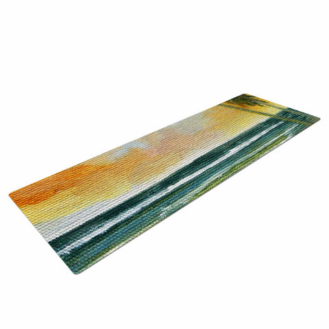 "Rosie Brown ""End of Day"" Beach Yoga Mat - KESS InHouse  - 1"