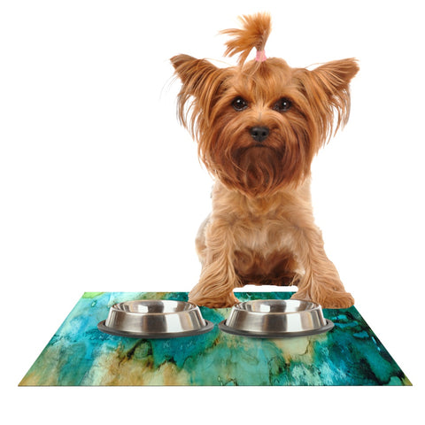 "Rosie Brown ""Waterfall"" Dog Place Mat - Outlet Item"