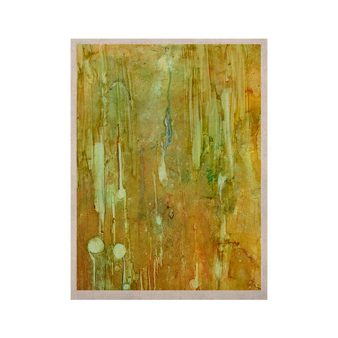 "Rosie Brown ""Rock City"" Yellow Painting KESS Naturals Canvas (Frame not Included) - KESS InHouse  - 1"